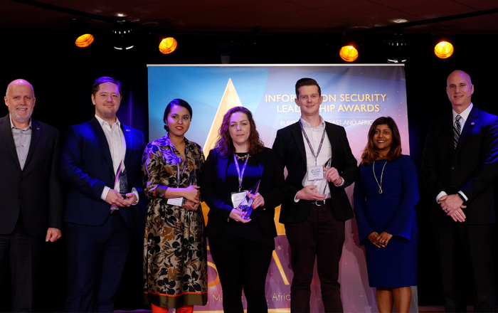 (ISC)² Announces Winners Of EMEA Information Security Leadership Awards.